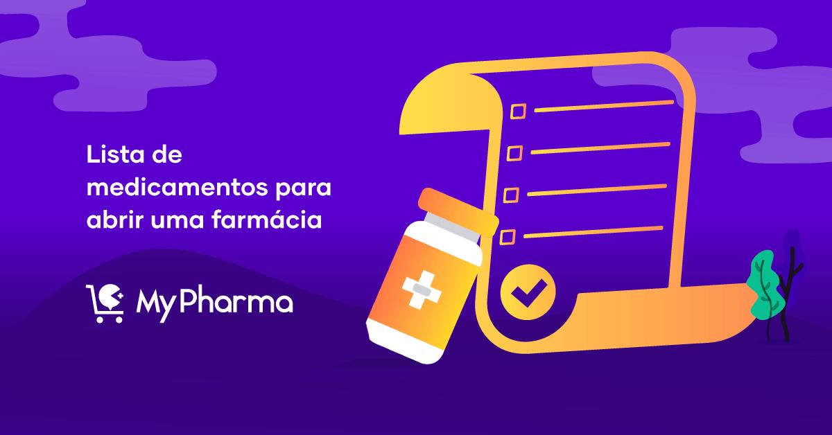 Lista de Medicamentos para Abrir uma Farmácia!