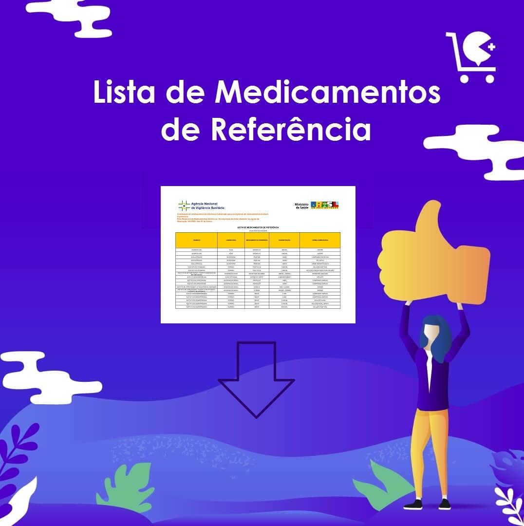 Lista de Medicamentos de Referência