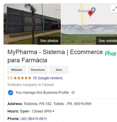 Marketing Digital para Farmácias - Google Meu Negócio