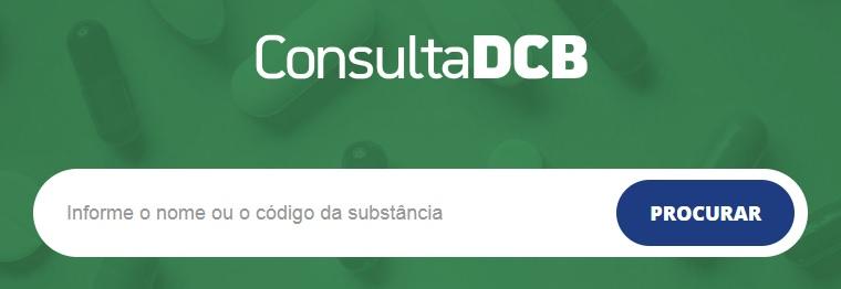 Consulta DCB Anvisa