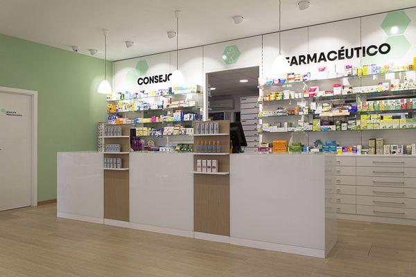 Balcão de farmácia