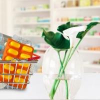Decoração de farmácia