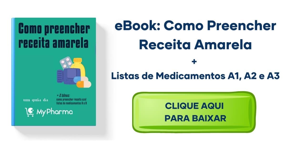 manual de como preencher receita amarela + listas de medicamentos a1, a2 e a3
