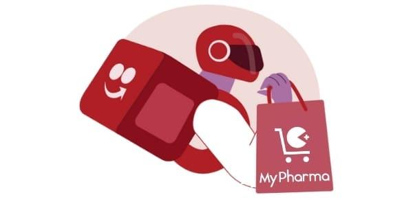 parceria mypharma e ifood
